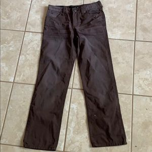Joes jeans brown straight narrow the Brixton 12